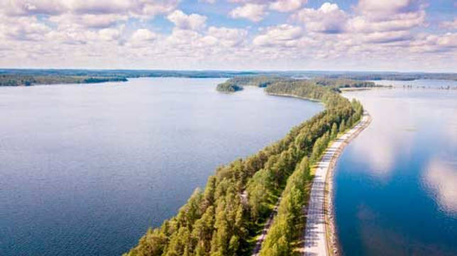 Какие озера крупнейшие в Европе - список, характеристика и фото 7