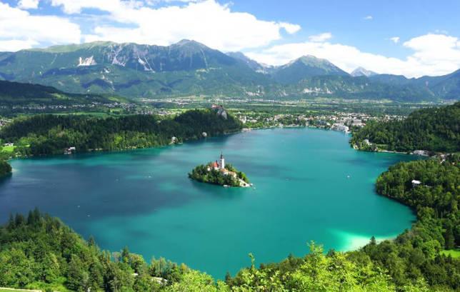 Blejsko jezero / Блейско, Словения, Озера Европы