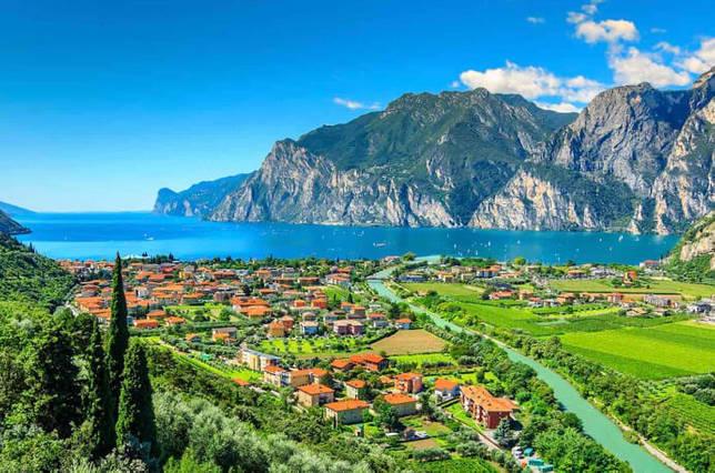 Lago di Garda / Гарда, Италия, Озера Европы