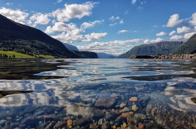 Hornindalsvatnet / Хорниндалсватнет, Норвегия, Озера Европы