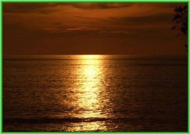 Вечерний Индийский океан