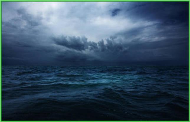 Хмурый Индийский океан